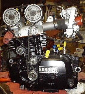 Bare Bones Machine Supermono Motorcycle Racing